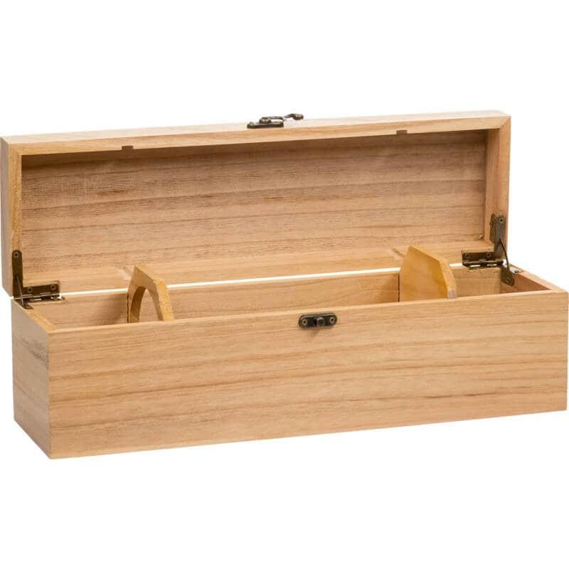 houten wijnkist 1 vaks